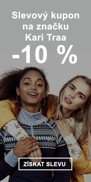 Extra sleva -10 % na značku Kari Traa