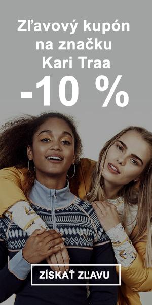 Extra zľava -10 % na značku Kari Traa