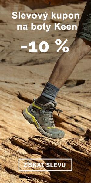 EXTRA SLEVA -10% na boty KEEN