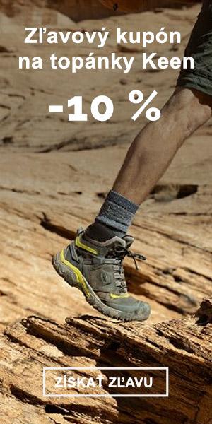 EXTRA ZĽAVA -10% na topánky KEEN