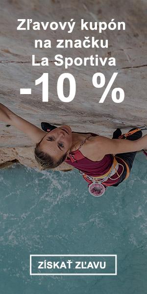 Extra zľava -10 % na značku La Sportiva