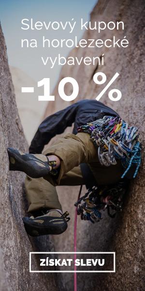Extra sleva -10% na horolezecké vybavení