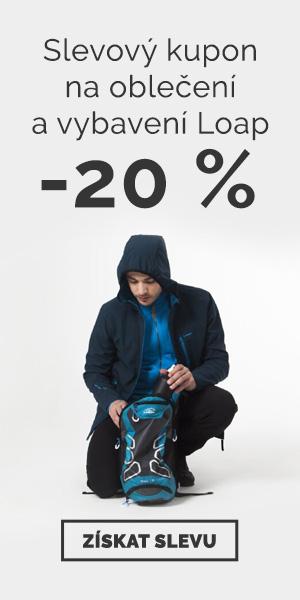 Extra sleva -20% na oblečení a vybavení Loap - léto