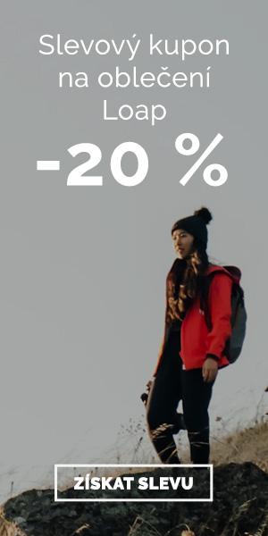 Extra sleva -20% na oblečení Loap