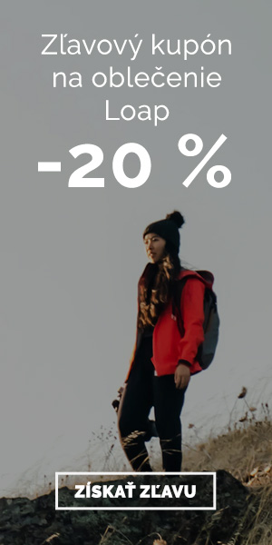 Extra zľava -20% na oblečenie Loap