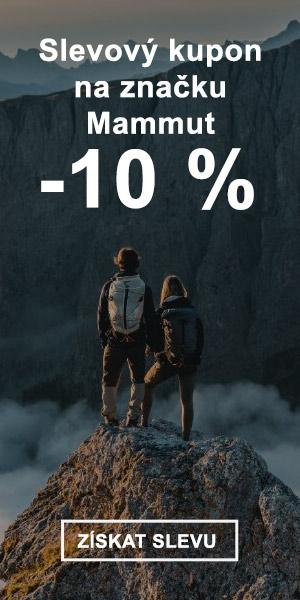 Extra sleva -10 % na značku Mammut