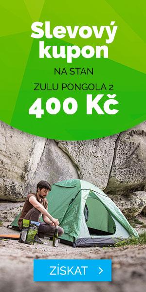 SLEVOVÝ KUPON 400Kč na STAN ZULU PONGOLA 2 - léto