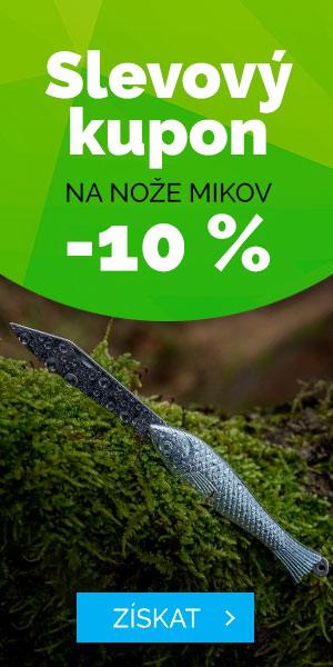 Slevový kupón 10% na nože MIKOV - léto