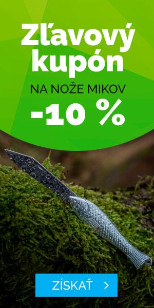 Zľavový kupón 10% pre nože MIKOV - leto
