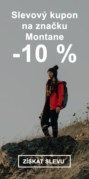 Extra sleva -10 % na značku Montane