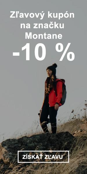 Extra zľava -10 % na značku Montane