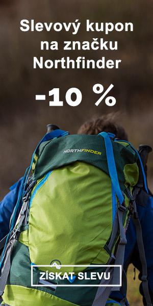 EXTRA SLEVA -10 % na značku Northfinder