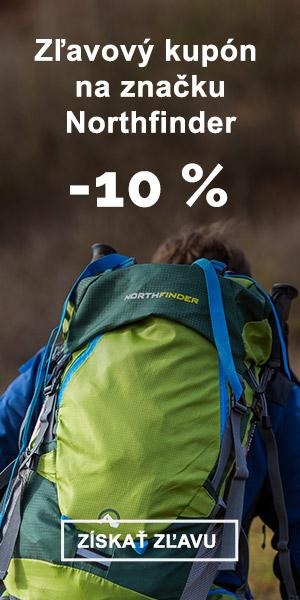 EXTRA ZĽAVA -10 % na značku Northfinder