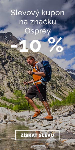 Extra sleva -10% na značku Osprey
