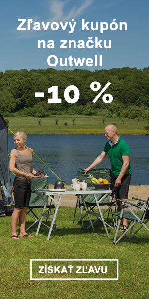 Extra zľava -10 % na značku Outwell