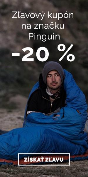 Extra zľava -20% na značku Pinguin