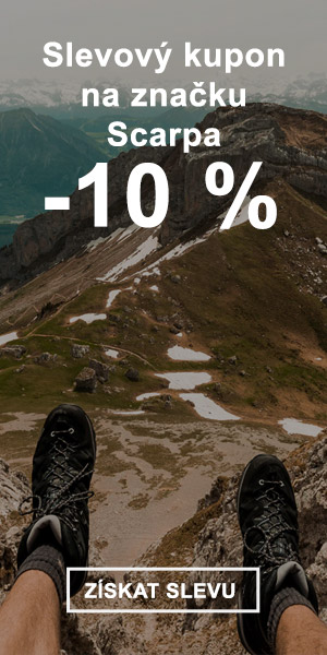 Extra sleva -10 % na značku Scarpa