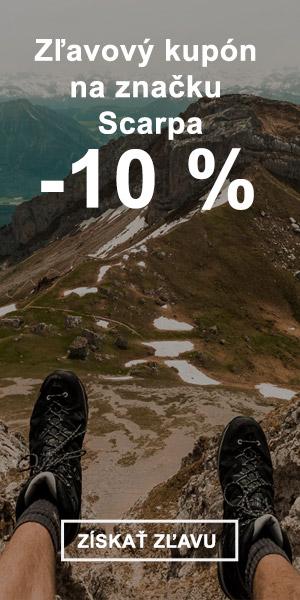 Extra zľava -10 % na značku Scarpa