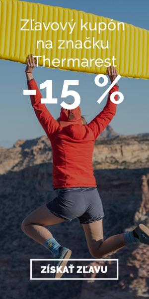 Extra zľava -15% na značku Thermarest