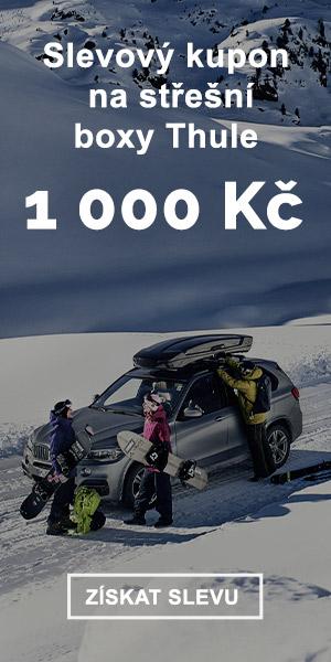Extra sleva -1000 Kč na střešní boxy Thule