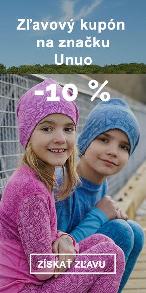 Extra zľava -10 % na značku Unuo