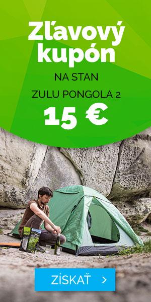 Zľavovy kupón 15Eur na STAN ZULU PONGOLA 2 - leto