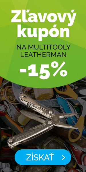 Dlouhodobé - EXTRA SLEVA 15% na multifunkční nářadí Leatherman
