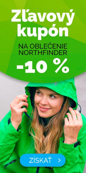 Zľavový kupón -10% na oblečenie NORTHFINDER - zima
