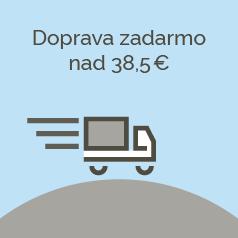 Doprava zdarma nad 38,5 € .
