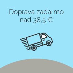 Doprava zdarma nad 40 € .