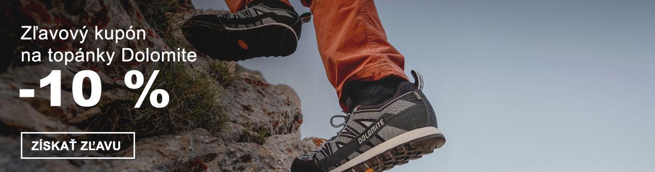 ZĽAVOVÝ KUPÓN -10 % na topánky DOLOMITE