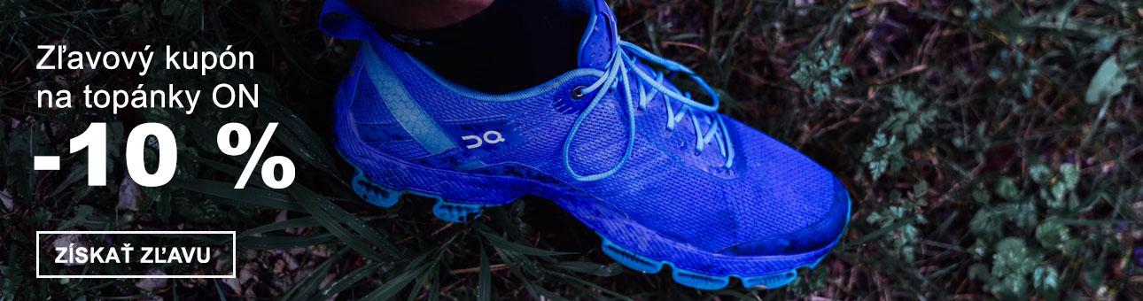 ZĽAVOVÝ KUPÓN -10 % na topánky ON
