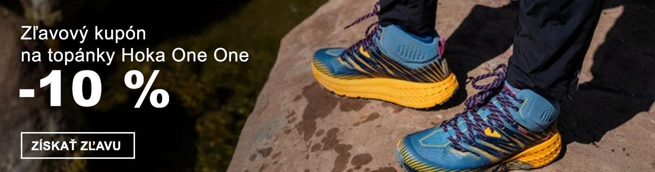ZĽAVOVÝ KUPÓN -10 % na topánky HOKA ONE ONE