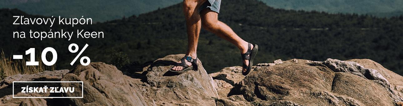 ZĽAVOVÝ KUPÓN -10% na topánky KEEN