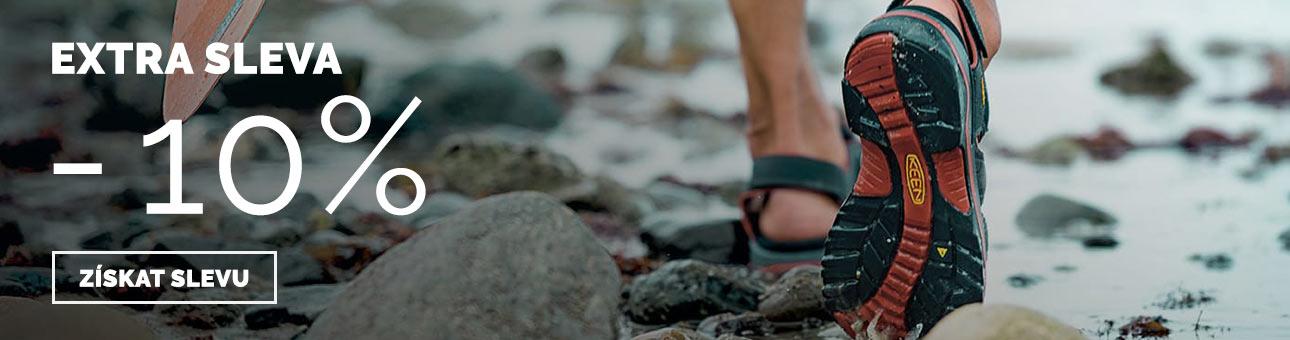 SLEVOVÝ KUPON -10 % na boty Keen