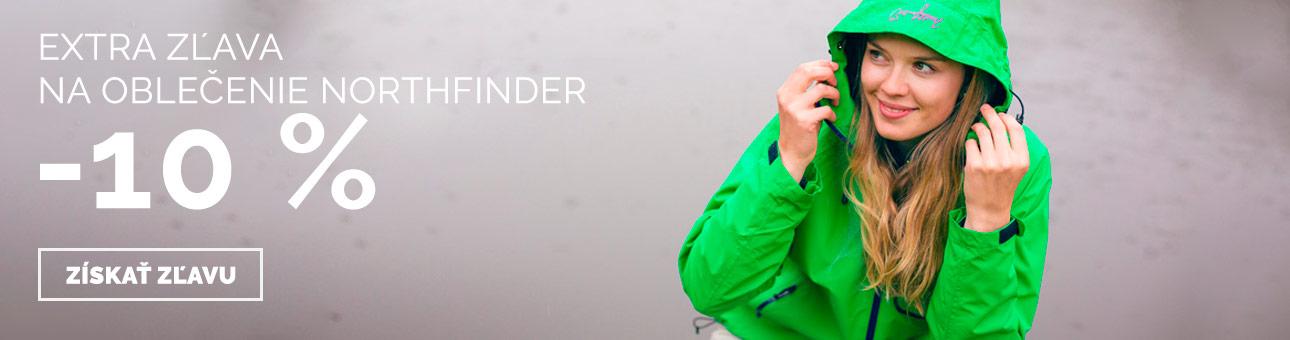 ZĽAVOVÝ KUPÓN -10% na oblečenie NORTHFINDER