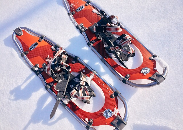 Vázání na sněžnicích je jako na snowboardu