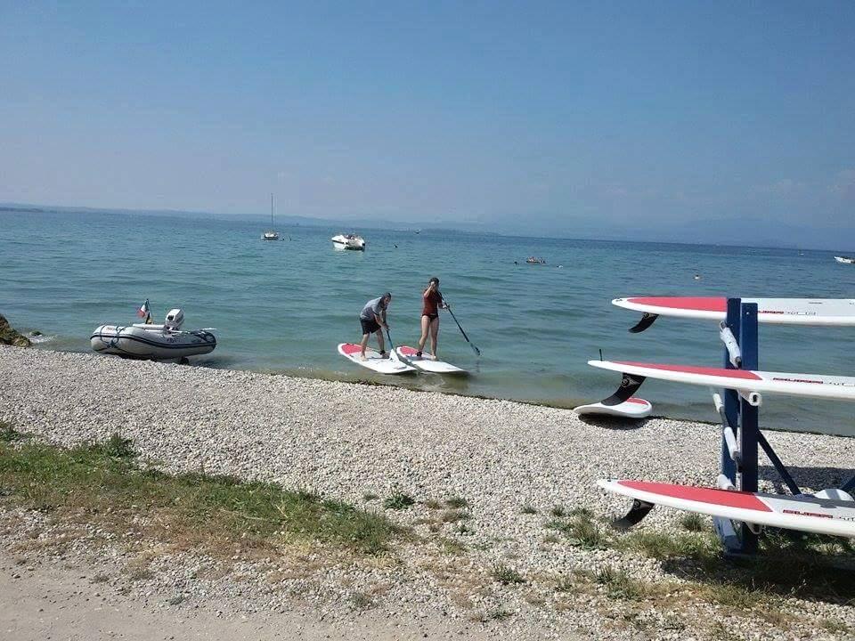 Padleboarding na Lago di Garde