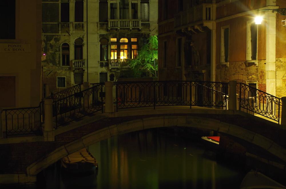 Nocleh v Benátkách