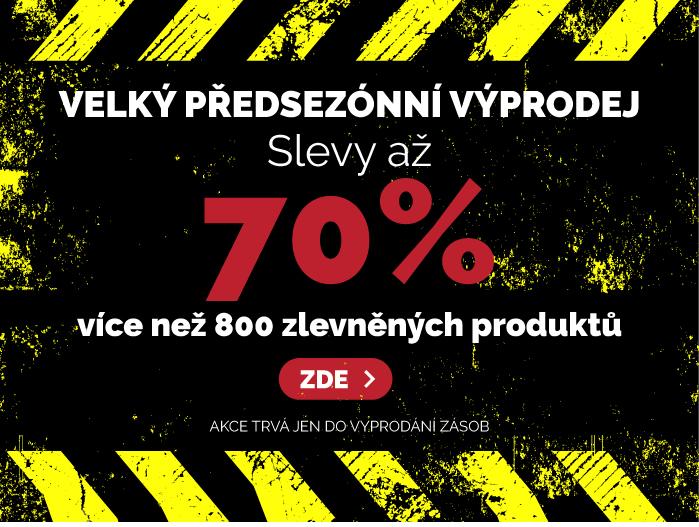 e9856c952ba Velký předsezónní výprodej - slevy až 70%