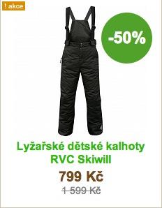 Lyžařské dětské kalhoty RVC Skiwill
