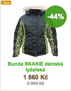 Bunda RVC SNAKIE dámská lyžařská