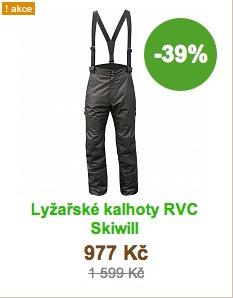 kalhoty rvc skiwill