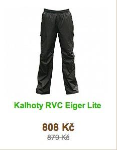 kalhoty rvc eiger