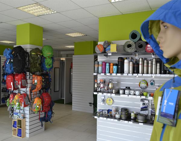 Prodejna a výdejna BRNO Nové Sady interiér