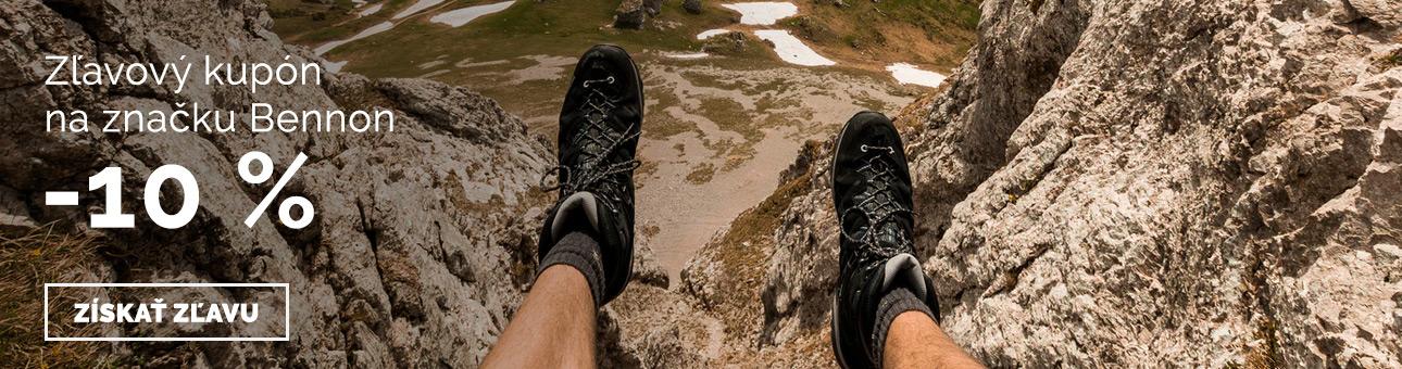 ZĽAVOVÝ KUPÓN -10 % na obuv BENNON