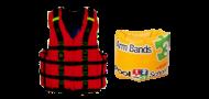plávacie vesty a rukávky